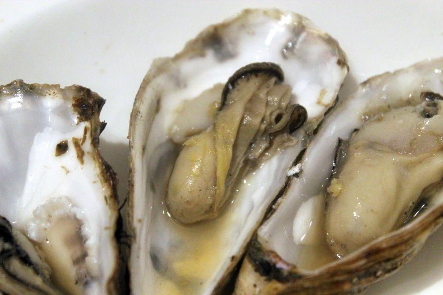 Austern sautiert