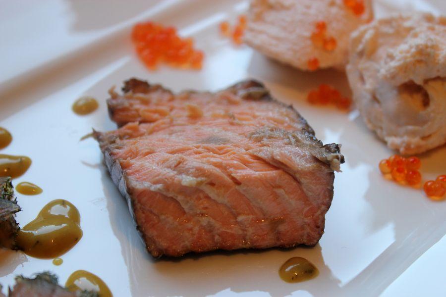 Stremel Lachs: heiß geräucherter Lachs